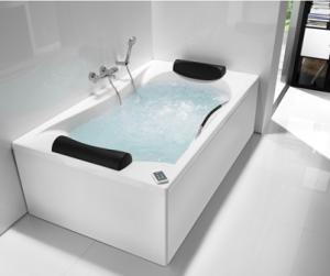 bañera hidromasaje arte en baño