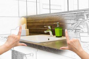 madera baño usar maginacion