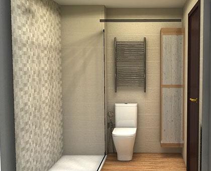 planificador de baños en 3D