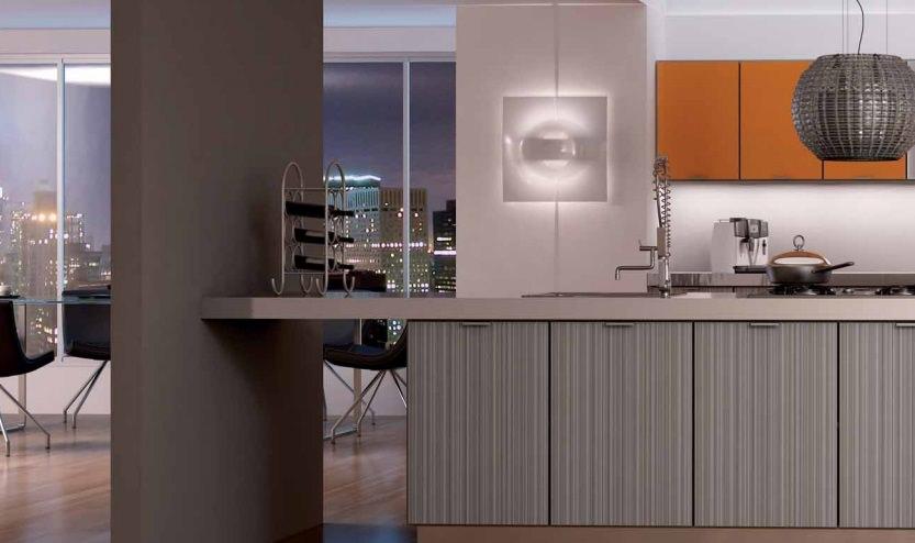Como lograr una cocina de dise o industrial arte en ba o - Diseno cocina industrial ...