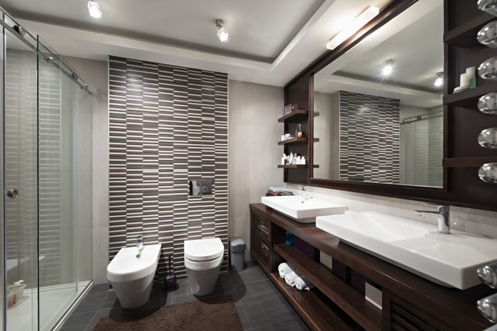 diseño de un baño moderno