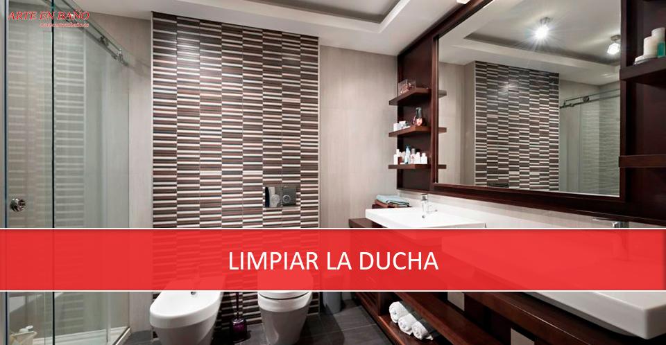 Como limpiar la ducha latest limpieza de mampara with - Como limpiar la mampara de la ducha ...